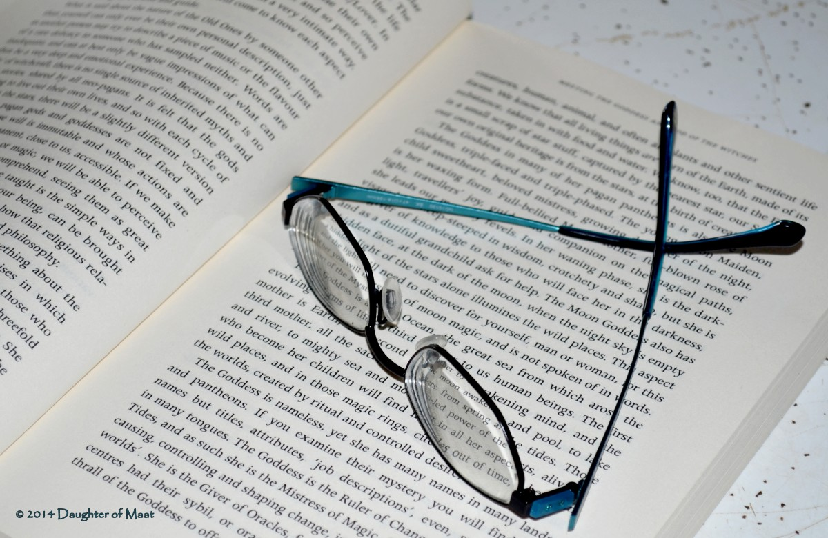 Taking breaks from reading or computer work and taking your glasses off can give your eyes a chance to relax and alleviate eyestrain.
