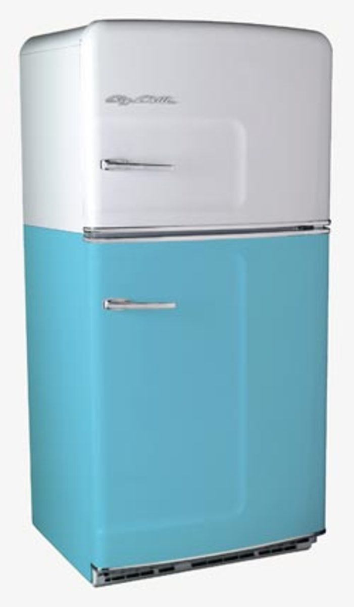 "Big Chill ""Beach Cruiser"" retro fridge"