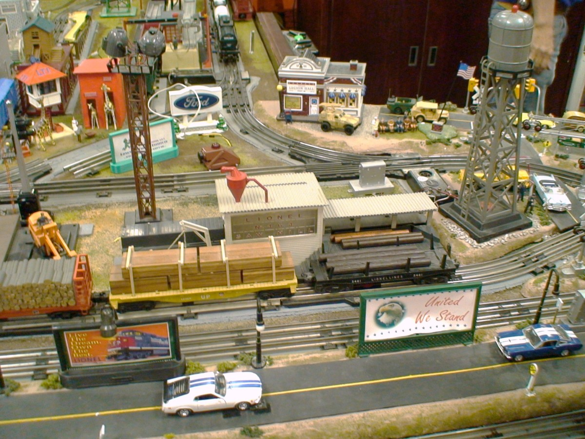 The lumber yard and sawmill have moving parts, so they'll need power.