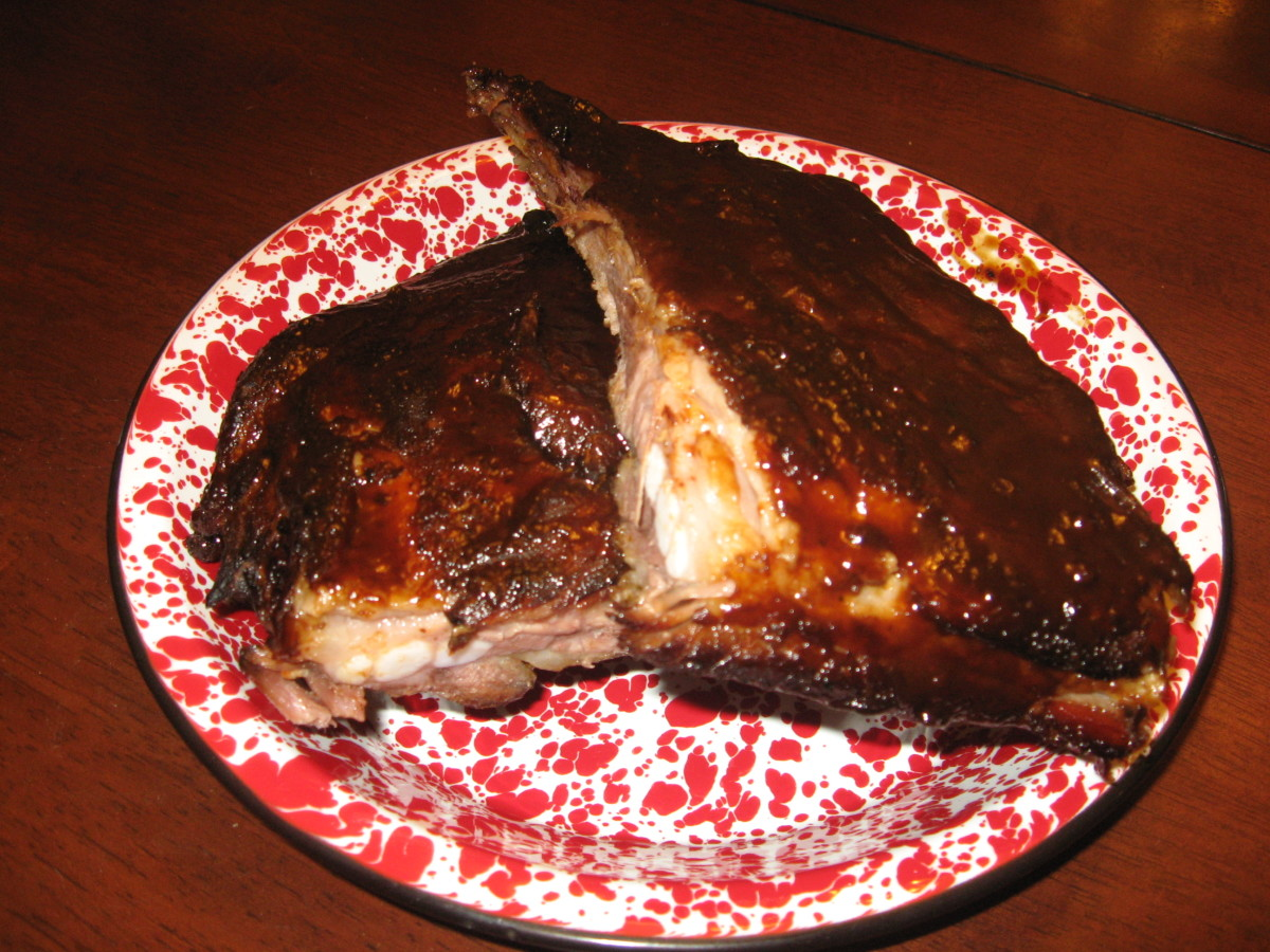I think I could eat BBQ ribs every day!