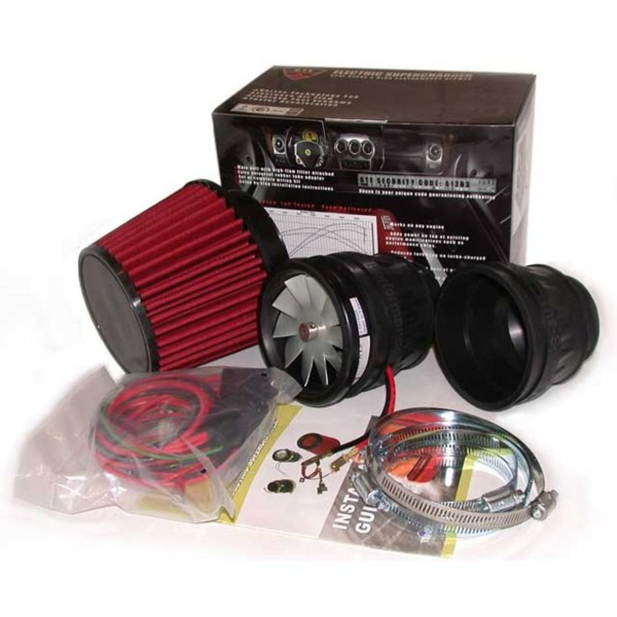 Universal Electric Supercharger Kit