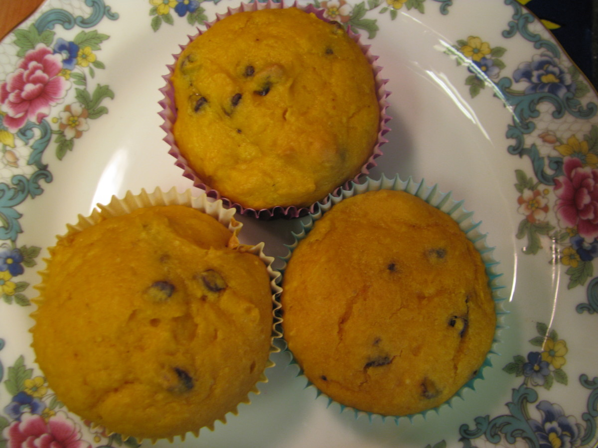 Pumpkin Cake Mix Muffin Recipe