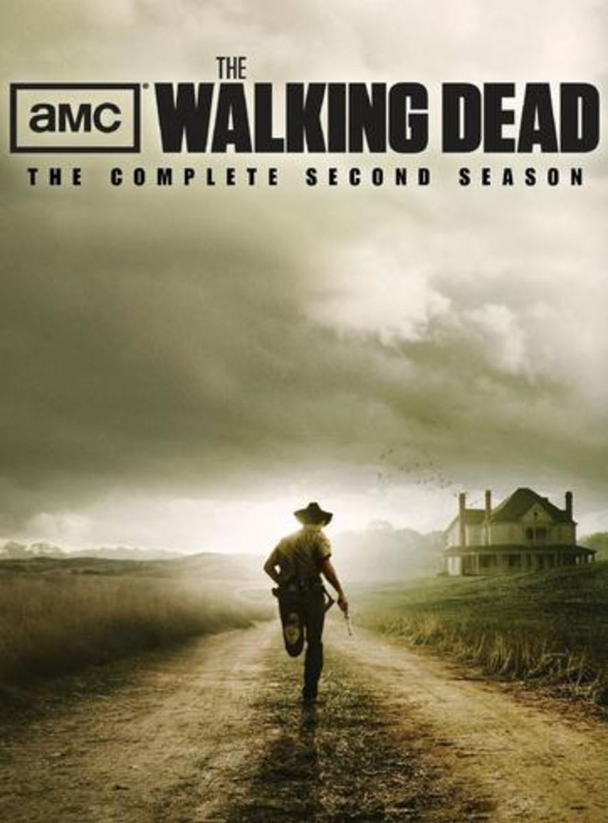 The Walking Dead Season Two DVD Boxed Set cover.