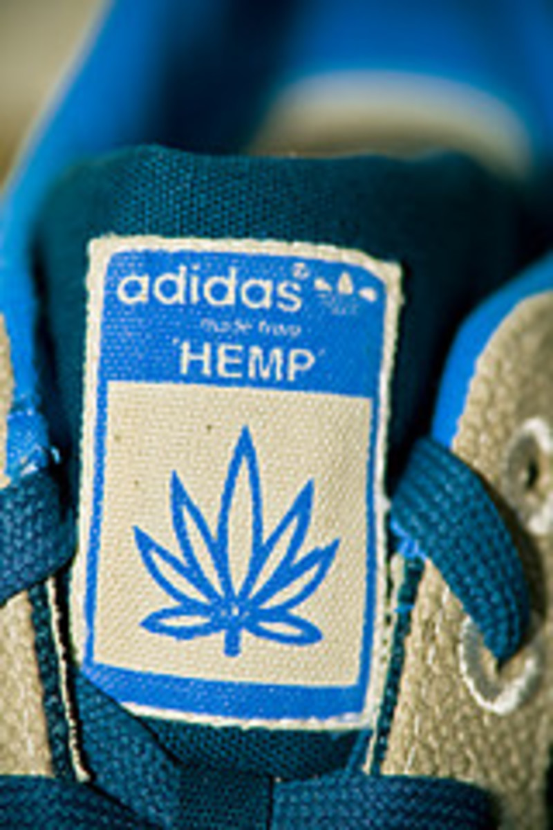 Adidas Gazelle Shoes Naturals Are Made From Natural Hemp Fabric