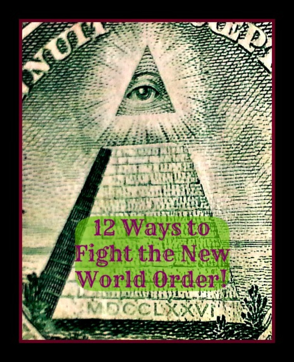 12 Ways to Fight the New World Order!