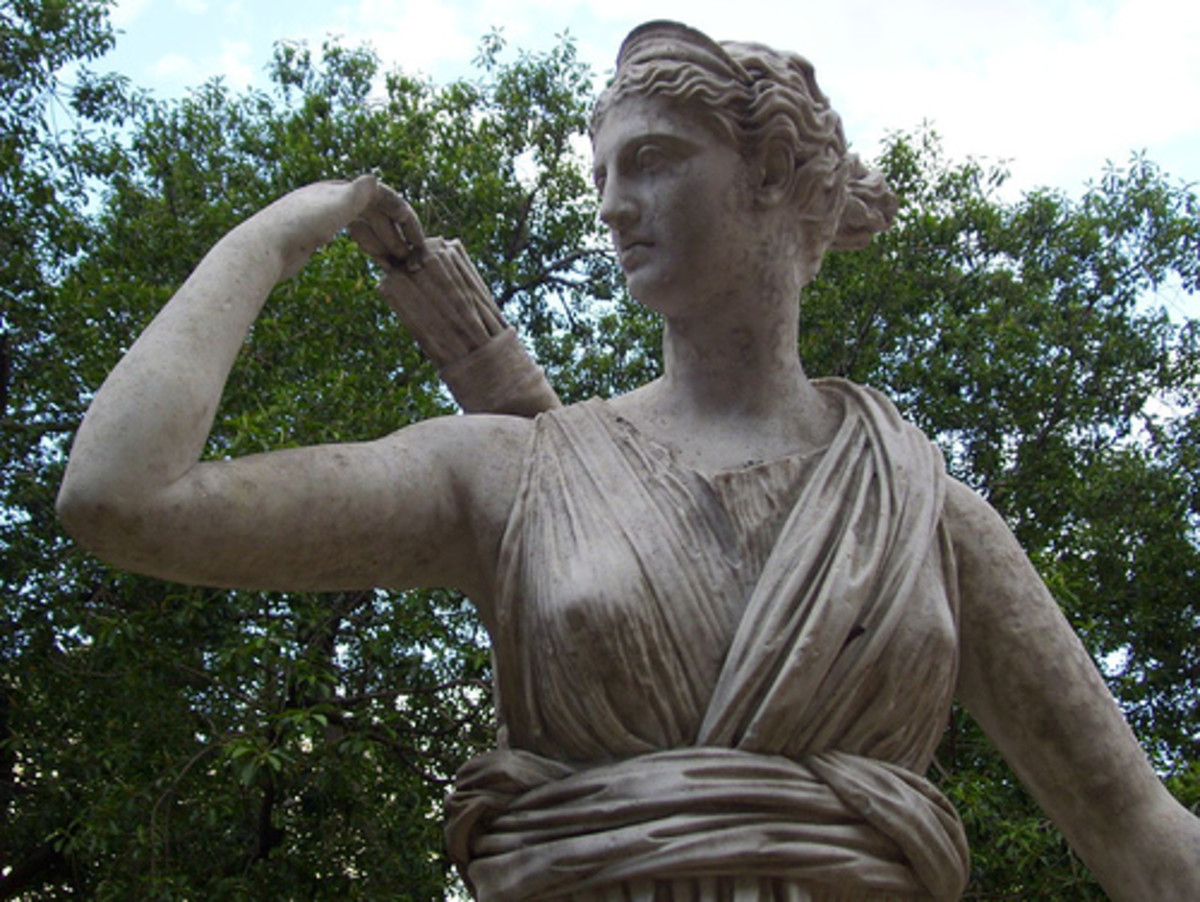 Artemis, goddess of the hunt, was widely worshiped in Sparta and exemplified many of the desirable traits of its women.