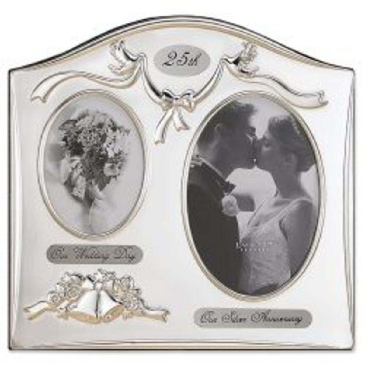 25th Anniversary Design Picture Frame