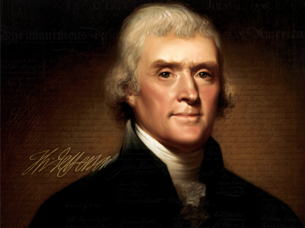 Thomas Jefferson And Other Presidents Who Owned Slaves.