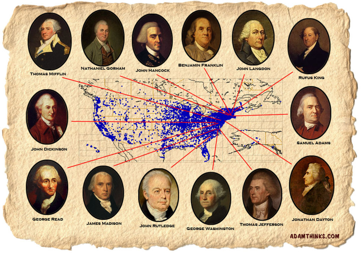The Founding Fathers As Gods Of A Religion HubPages - List of the founding fathers of the united states