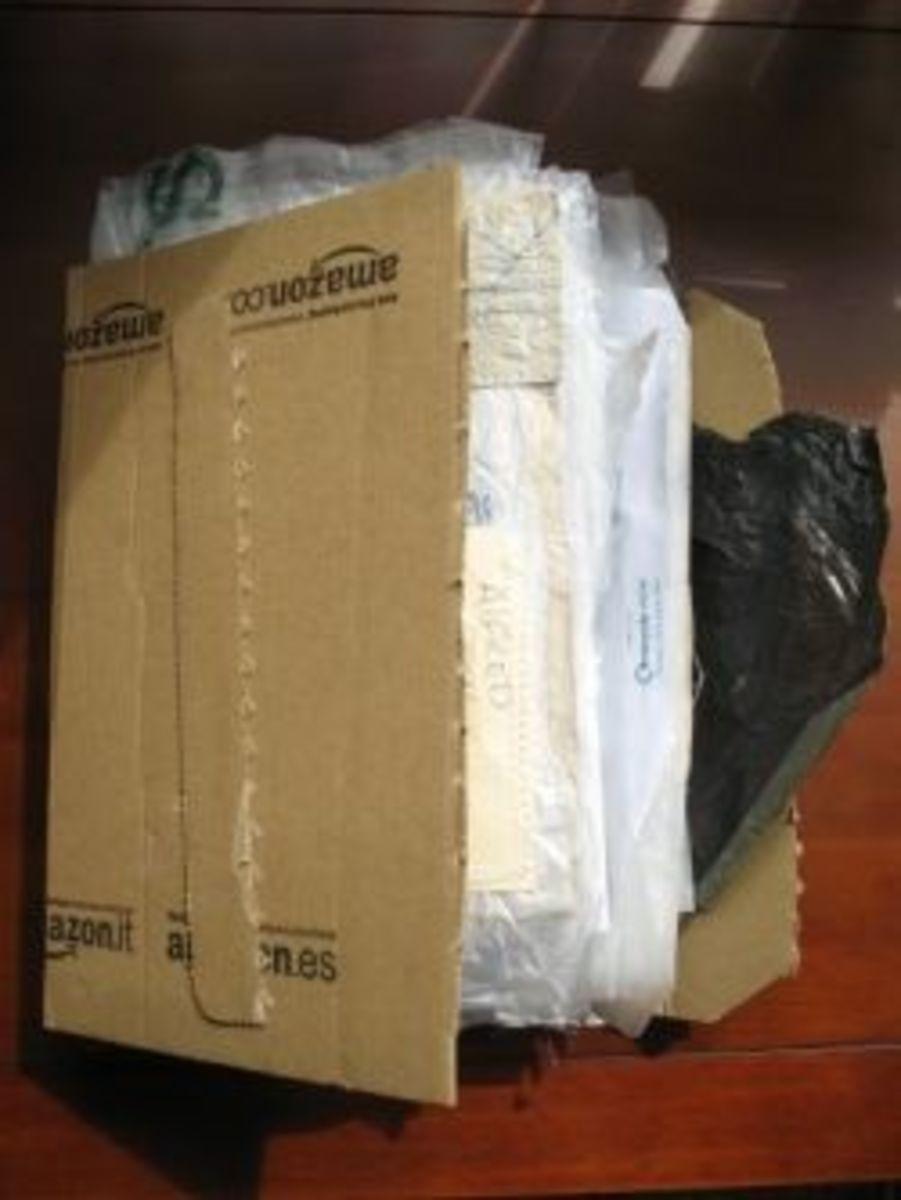 Recycled Amazon Journal in progress by MeltedRachel