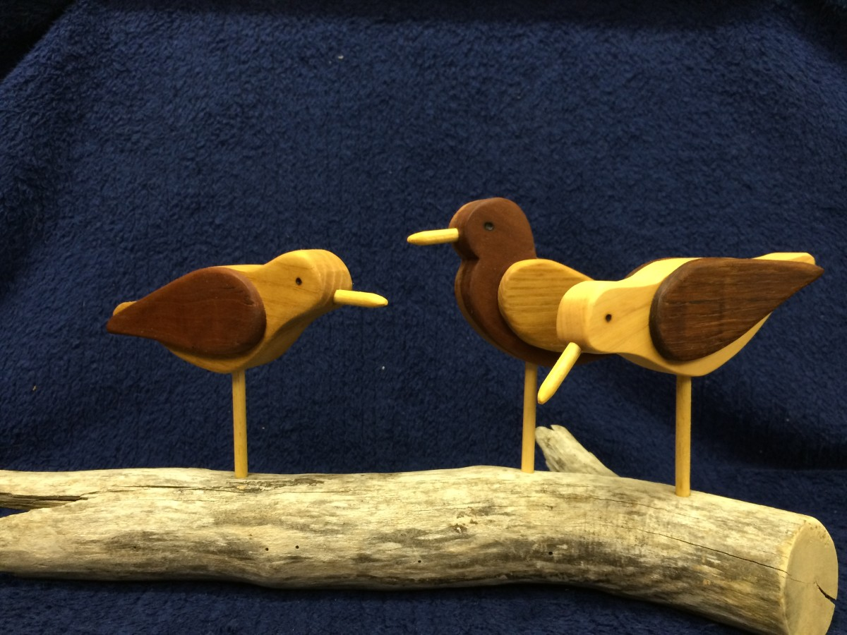 How To Make A Shorebird Silhouette Decoy: Rustic Handcrafted Folk Art