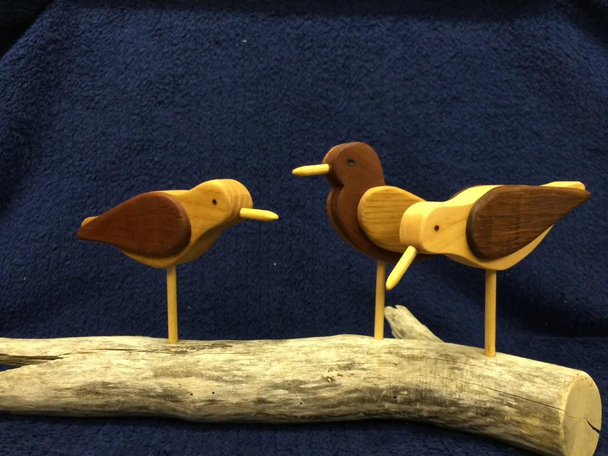 How to Make a Shorebird Silhouette Decoy: Rustic Handcrafted Folk Art