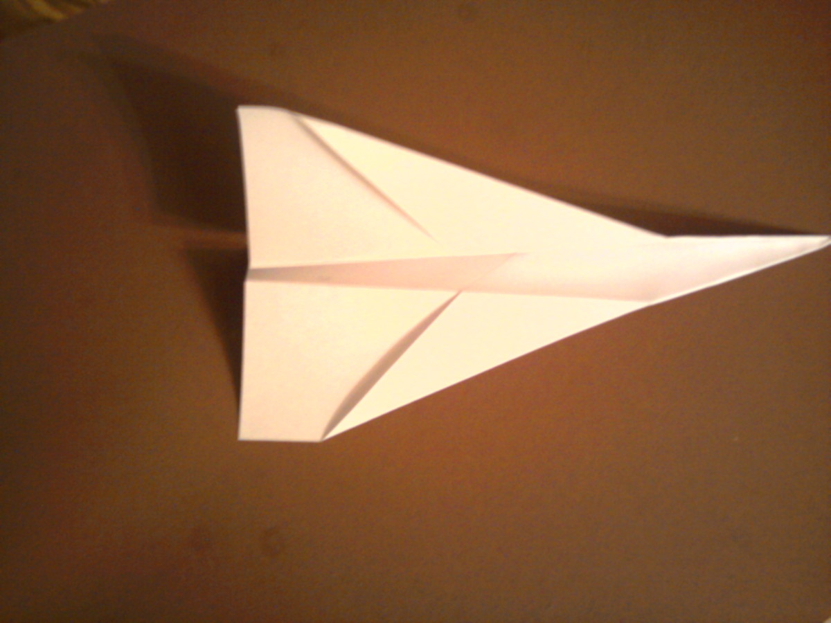 A paper airplane appears on your cell phone when you have new mail with Maildroid (sorry for my bad rendition of a plane ;)