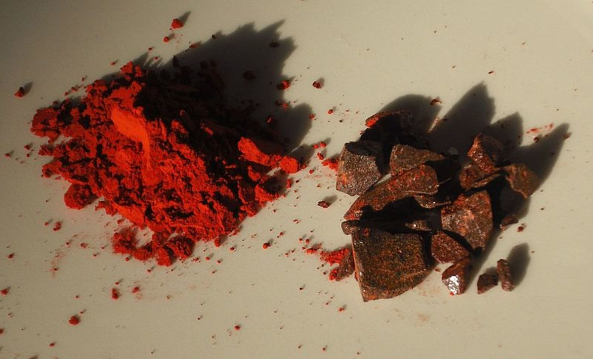 Dragon's blood from Daemonorops draco.