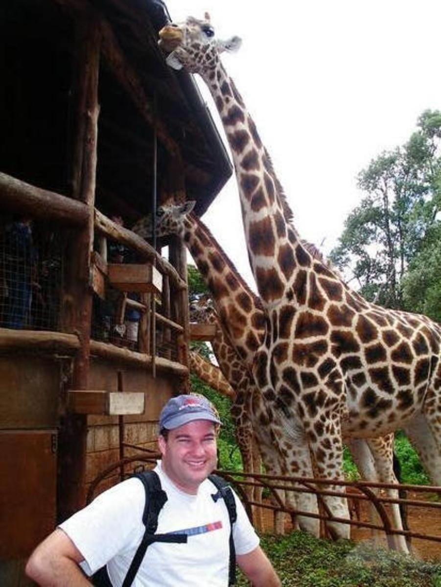 Nairobi Giraffe Centre, Kenya