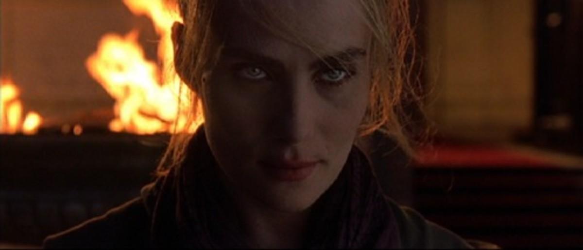 Emmanuelle Seigner's Eyes