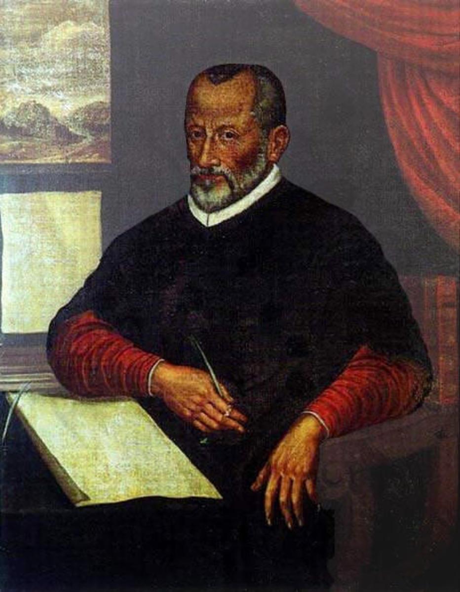 Portrait of Italian Renaissance Composer Palestrina