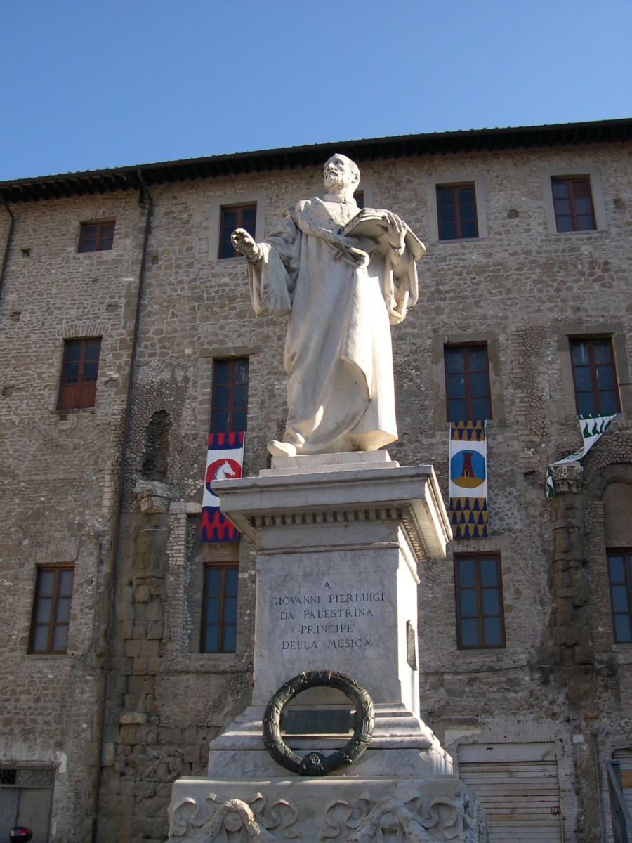 A sculpture of Palestrina