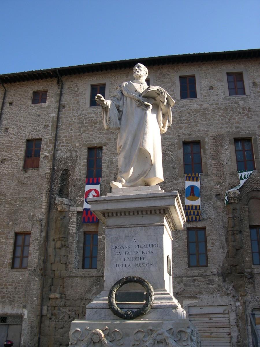 A sculpture of Palestrina