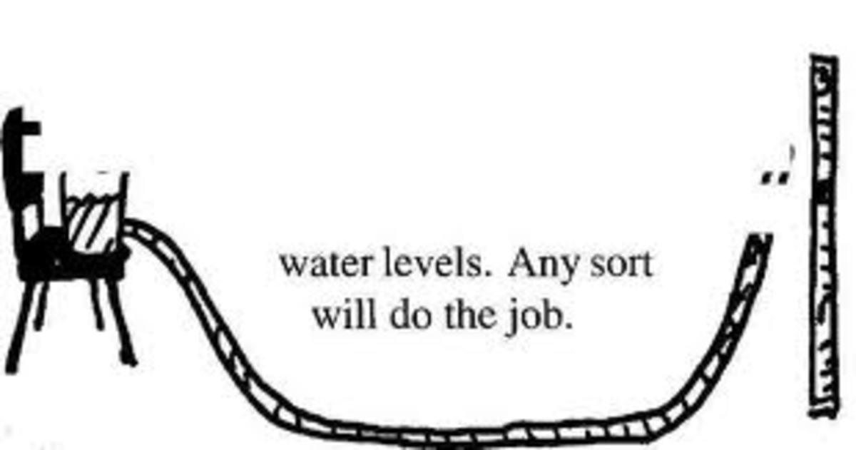 With this type of water level just a single person can use it to mark the levels on the building site. You need to fill up the container with water and then let the water run and fill up the house making sure that there are no air bubbles.