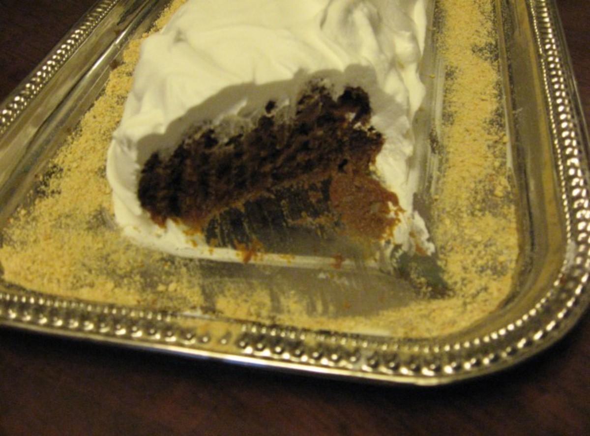 No-Bake Pumpkin Spice Cake