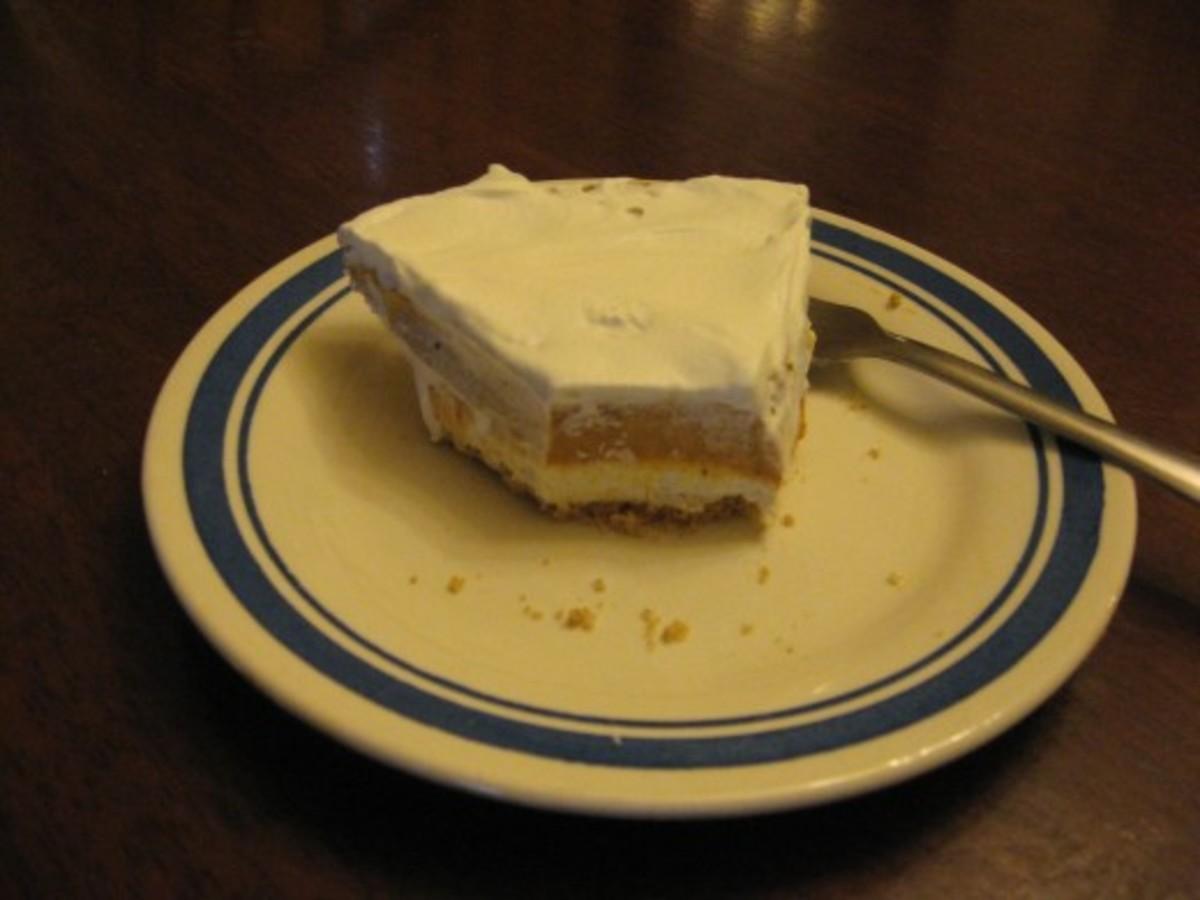 No-Bake Pumpkin-Cream Cheese Pie