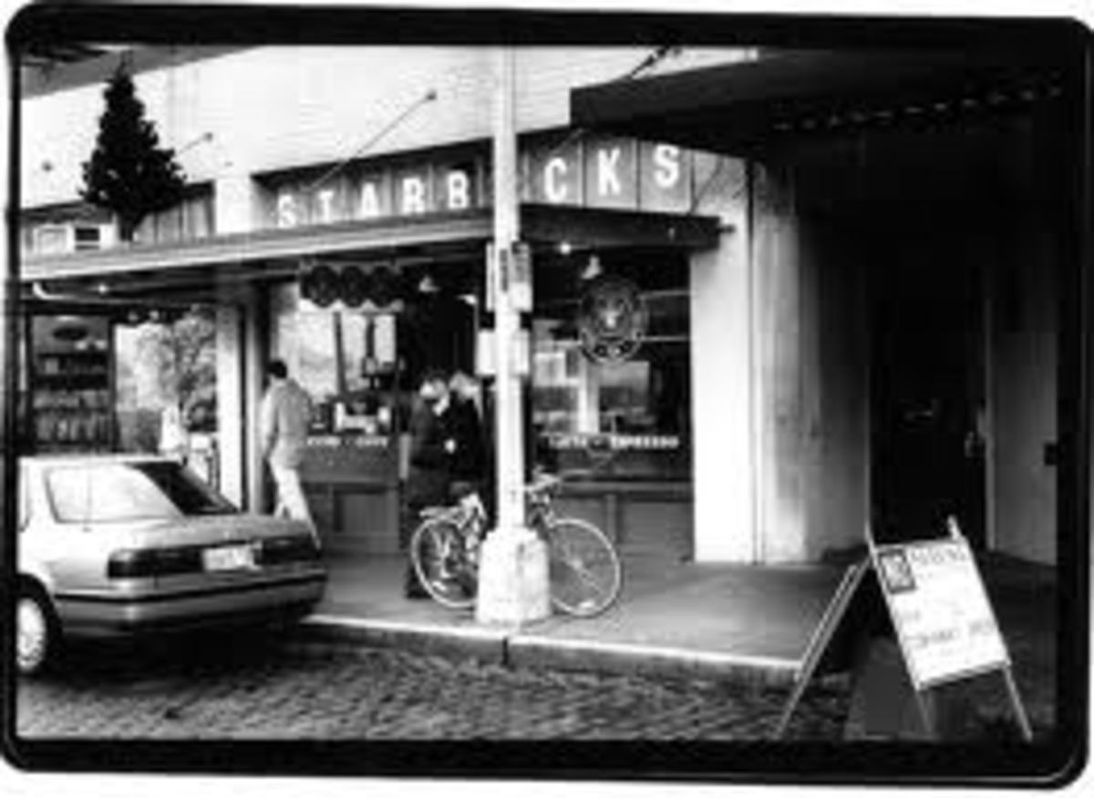 The original Starbucks.
