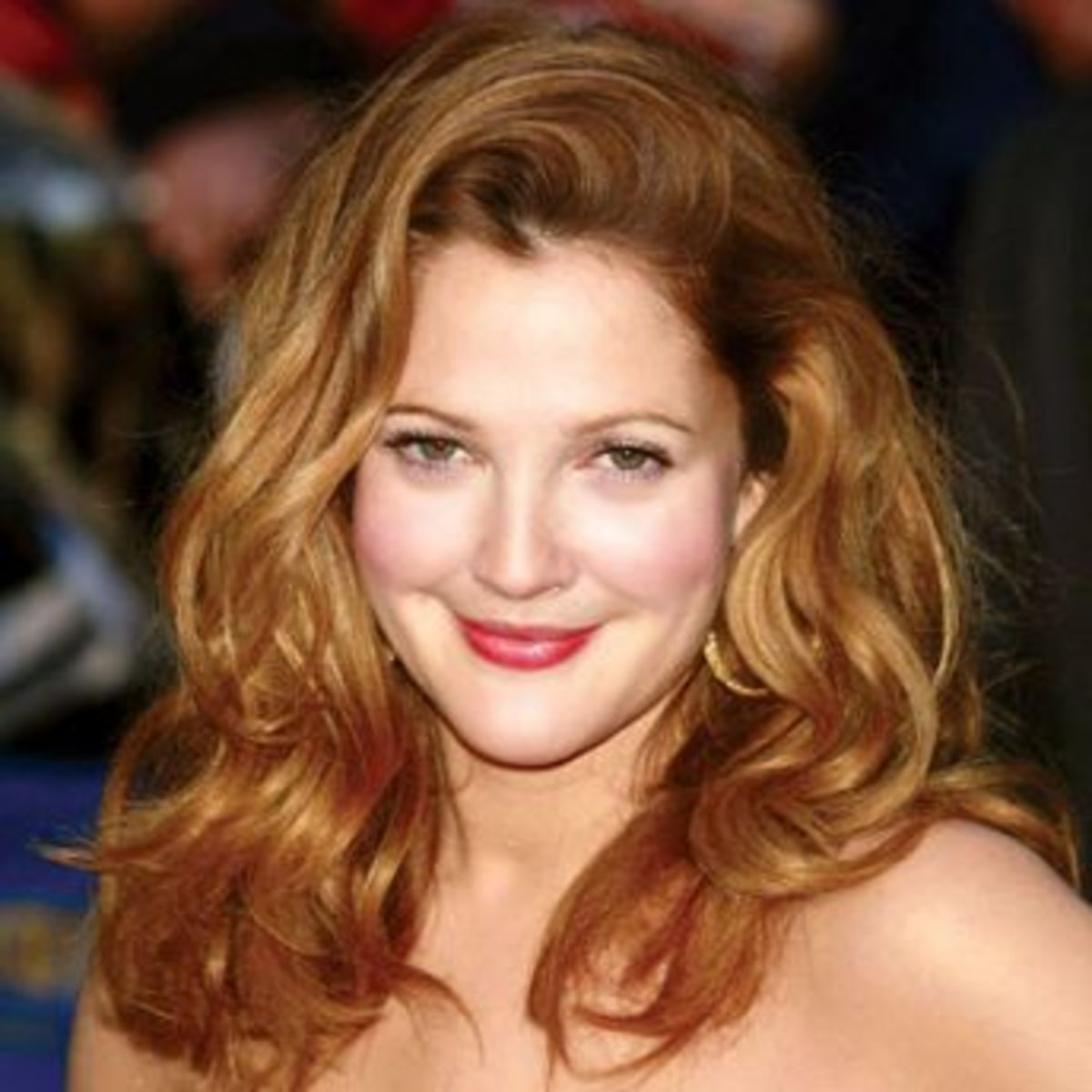 Drew Barrymore in Dark Honey Blonde Hair