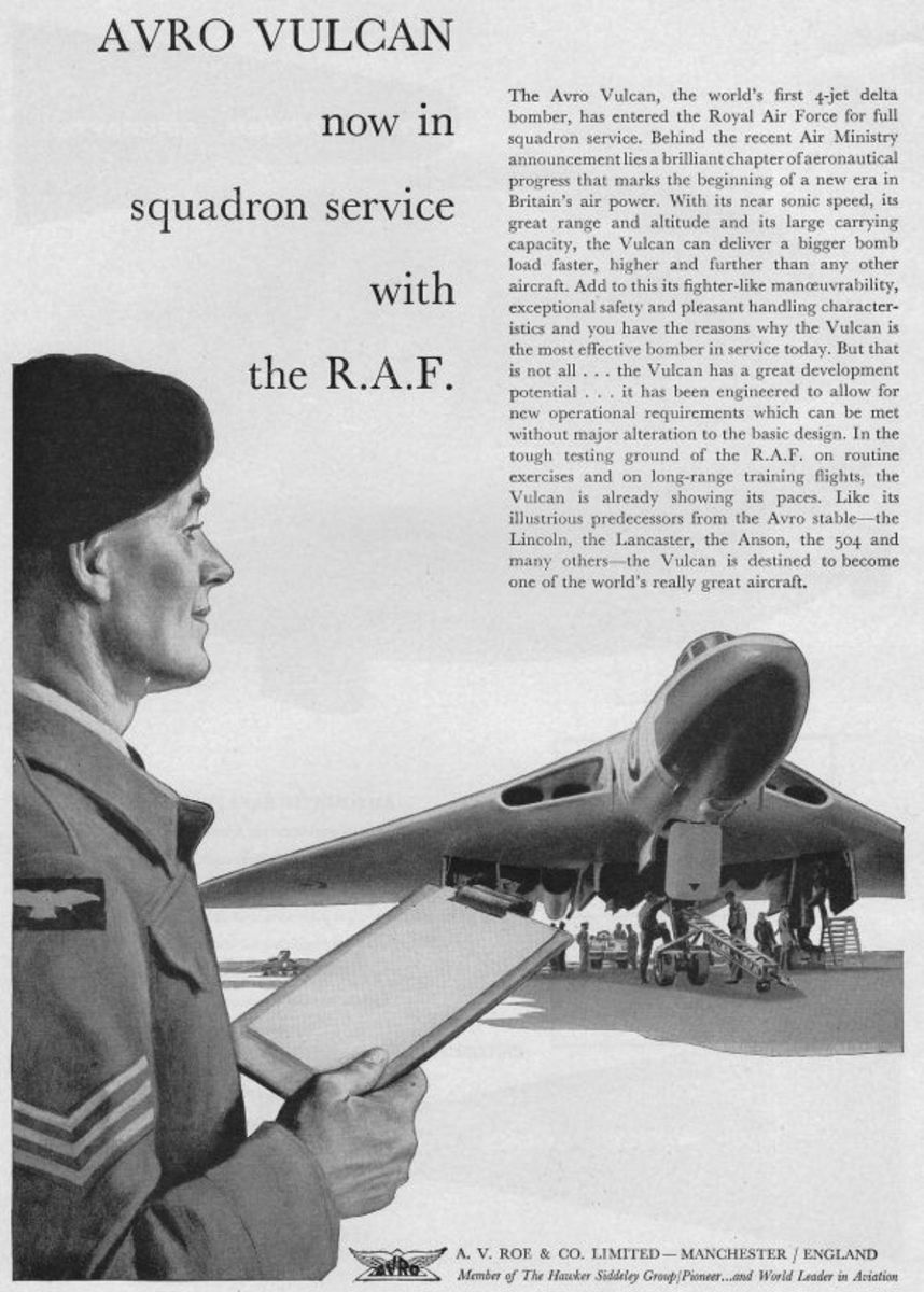 1957- Avro Vulcan Now in Service