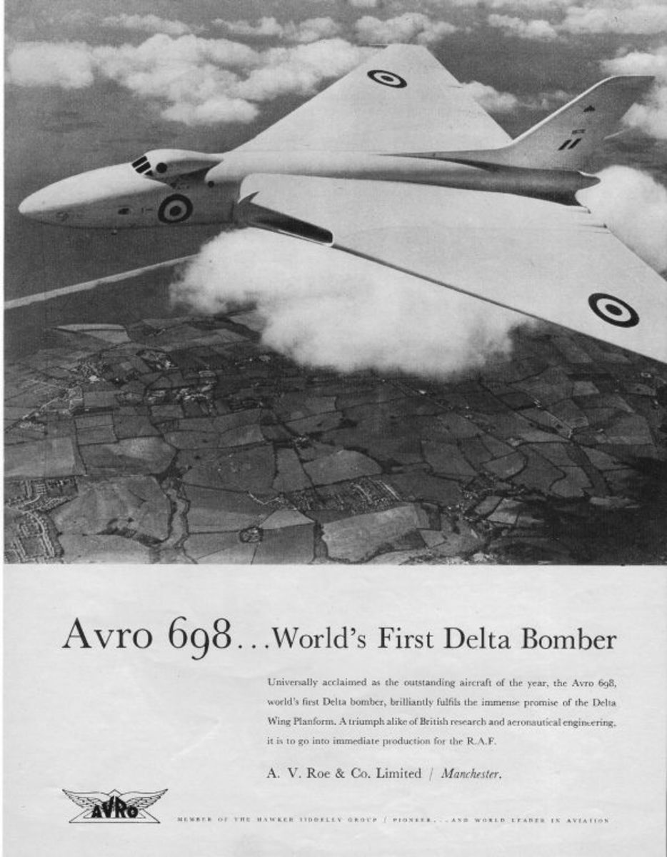 1952 - Avro 698 (First Delta Bomber)