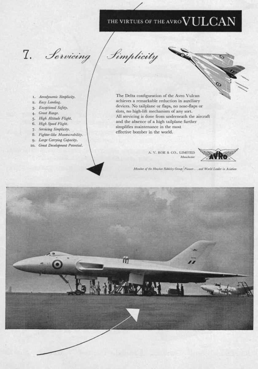 1954-Avro Vulcan Servicing Simplicity