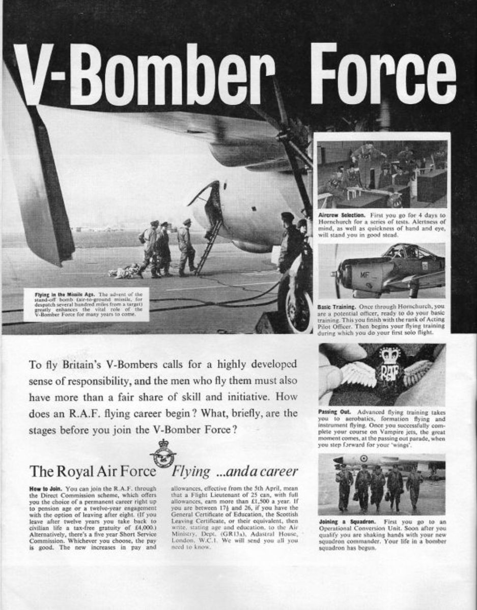 1958 - Avro Vulcan the V Bomber Force