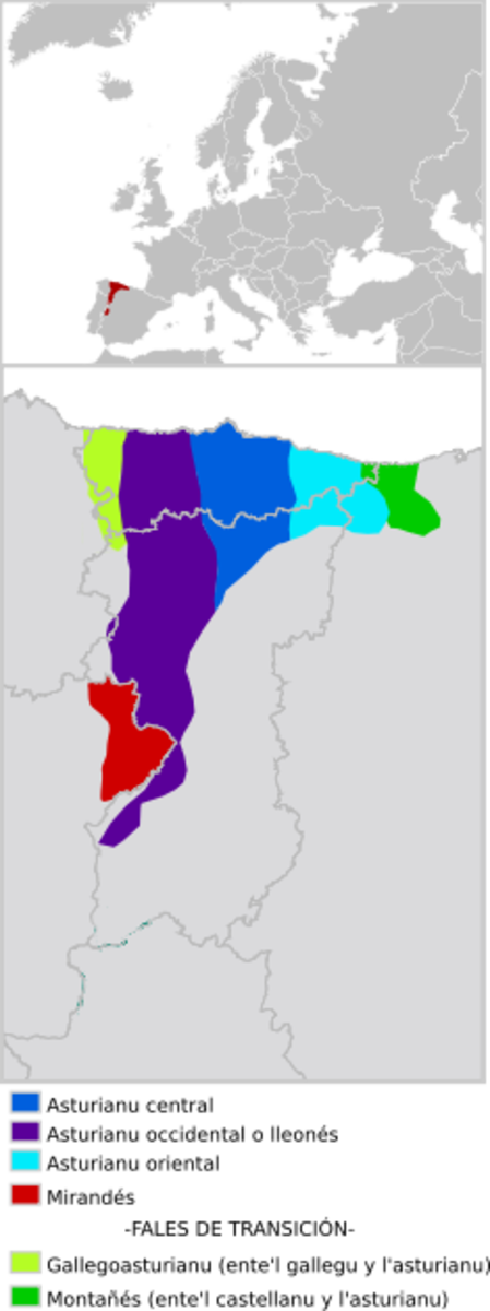 Endangered languages: Bable, the Asturian language