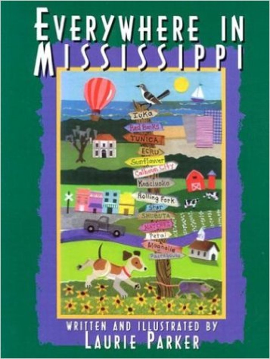 Everywhere in Mississippi by Laurie Parker - Image is from amazon.com