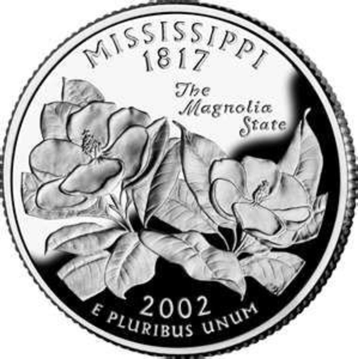 Mississippi's state quarter