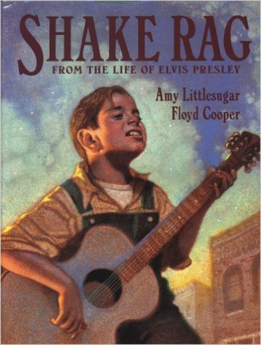 Shake Rag: From the Life of Elvis Presley by Amy Littlesugar - Image is from amazon.com