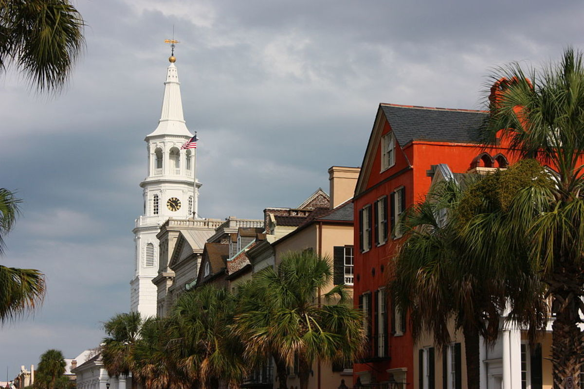St. Michael's on Broad Street in Historic Charleston