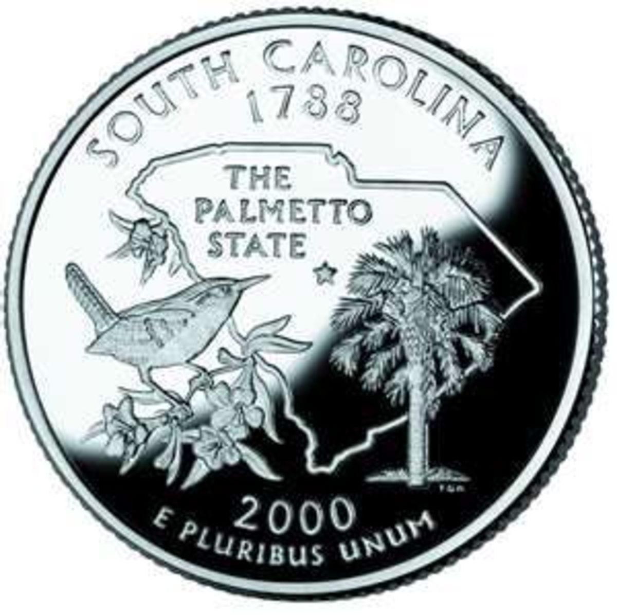 South Carolina's State Quarter