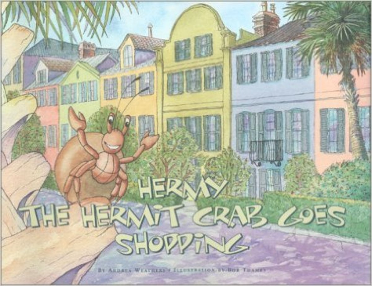 Hermy the Hermit Crab Goes Shopping by Andrea Weathers