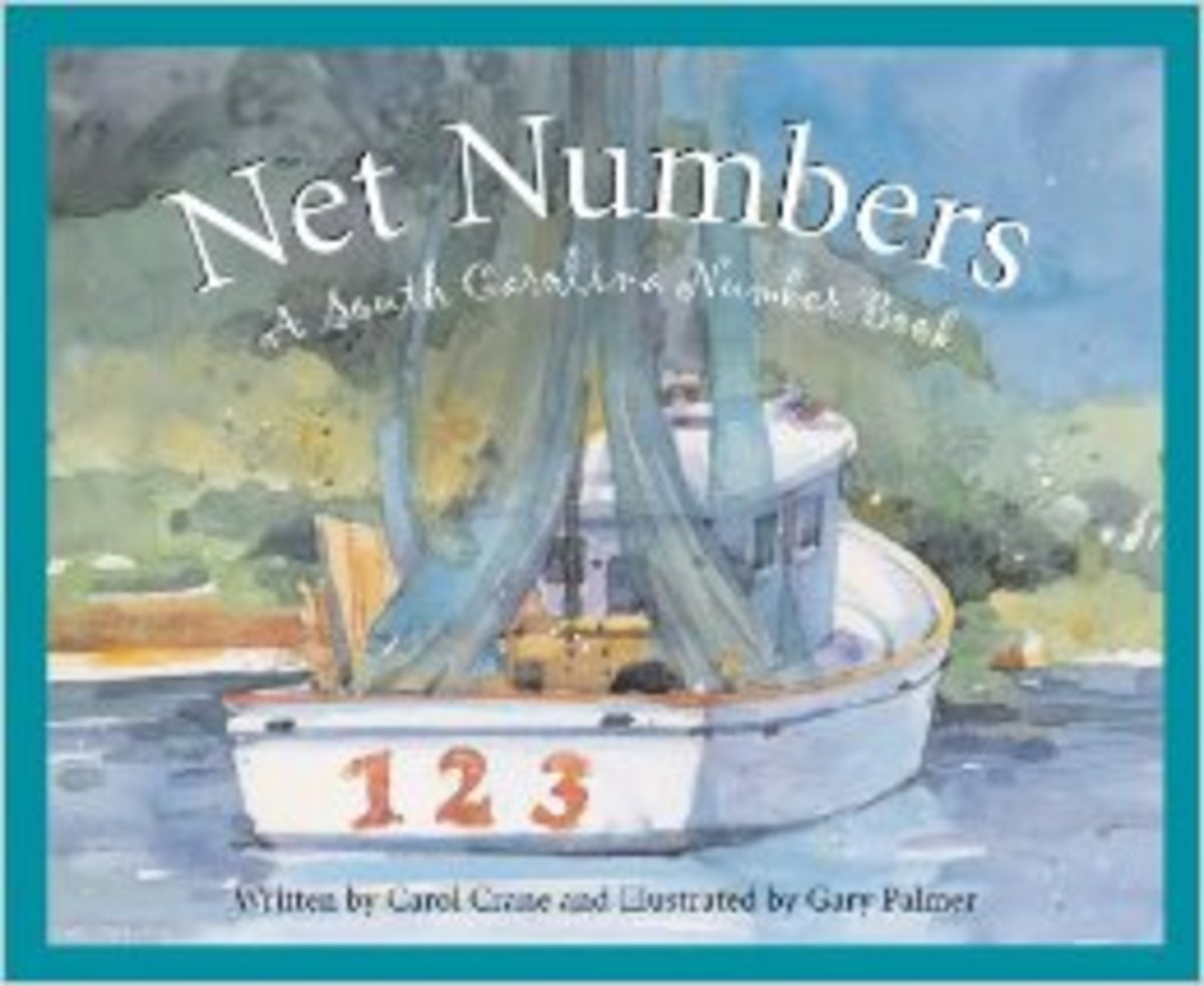 Net Numbers: A South Carolina Number Book (Count Your Way Across the USA) by Carol Crane