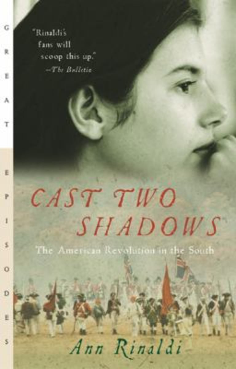Cast Two Shadows: The American Revolution in the South by Ann Rinaldi