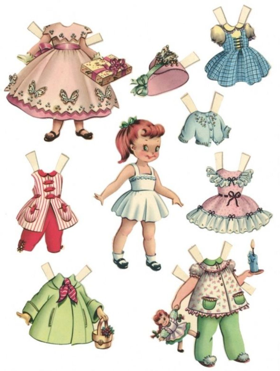picture relating to Printable Paper Doll named Printable Paper Dolls: No cost Paper Dolls and Apparel for Little ones