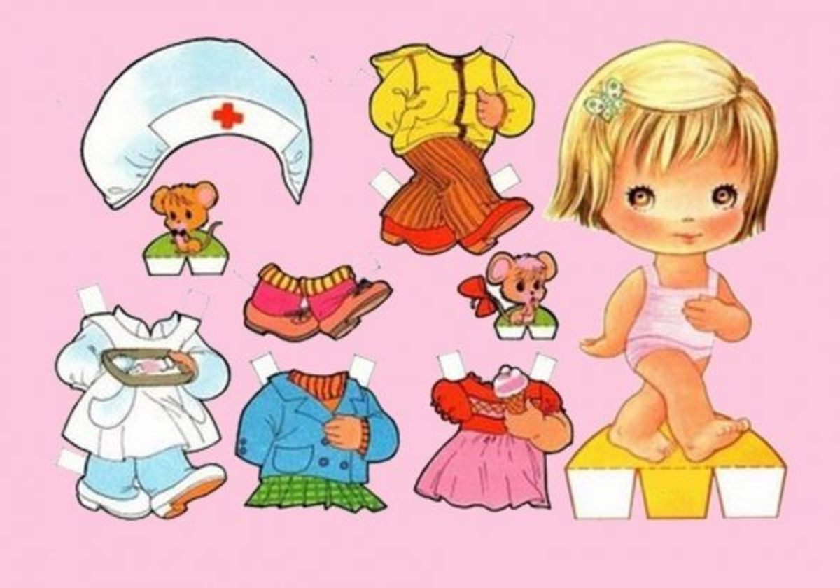 Printable Paper Dolls Free Paper Dolls and Clothes for Kids