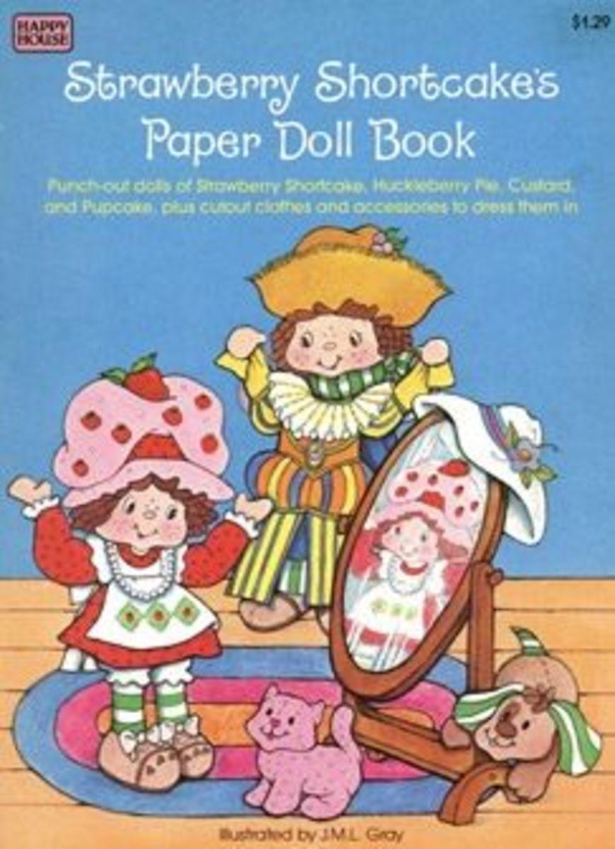printable paper dolls, shortcake dolls