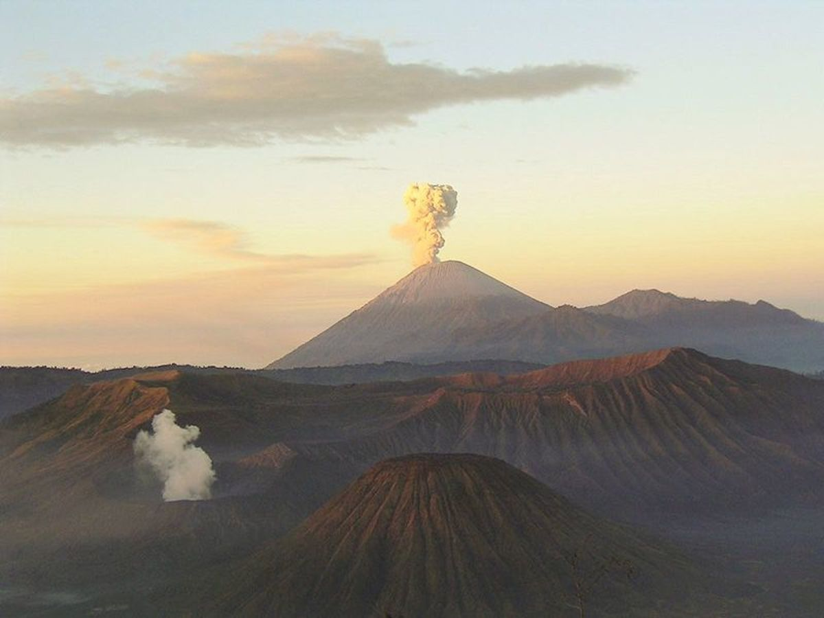 It's thought that volcanoes played a crucial role in filling the Earth's atmosphere with carbon dioxide which probably ended the era of 'Snowball Earth'.