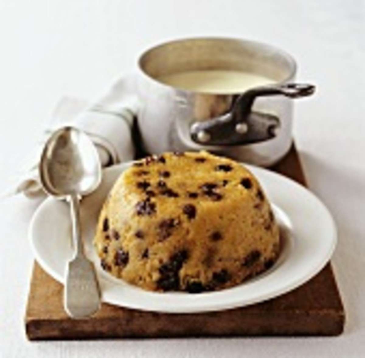 Traditional Spotted Dick pudding with real English Custard recipes. A delicious taste of old England.