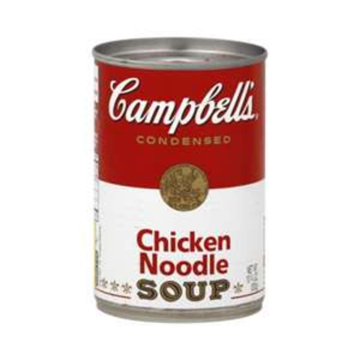 Food Labels:  Campbell's Chicken Noodle Soup (Warning: May Cause Laughter....or Weeping...or Both)
