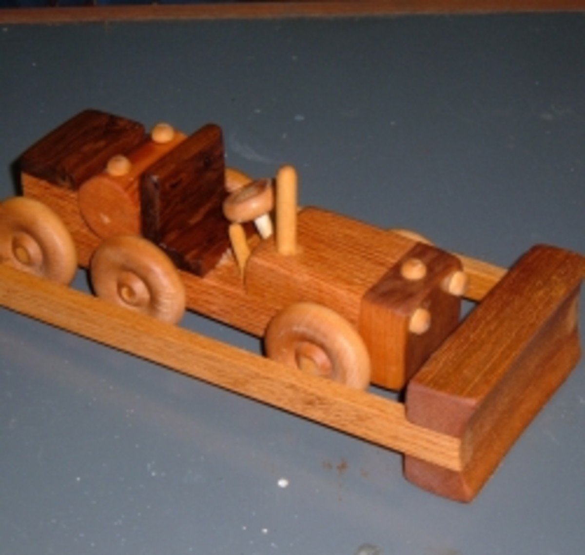Build This Wooden Toy Bulldozer