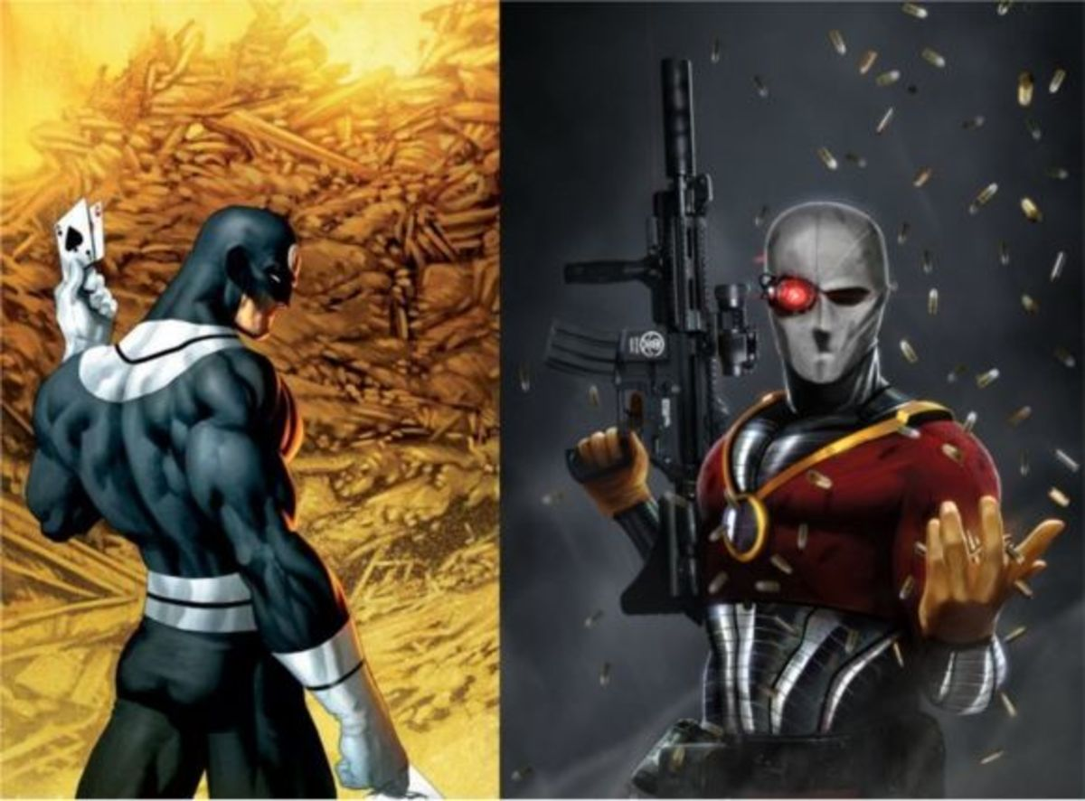 Who has the advantage with Tools? Bullseye or Deadshot?