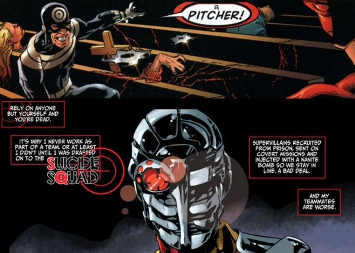 Bullseye and Deadshot: Who has the most resources?